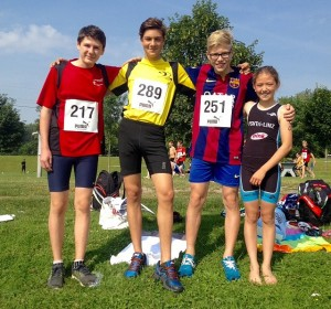 sensation im aquathlon